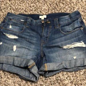 J. Crew Factory Jean Shorts